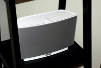 Sonos S5 shelved up close