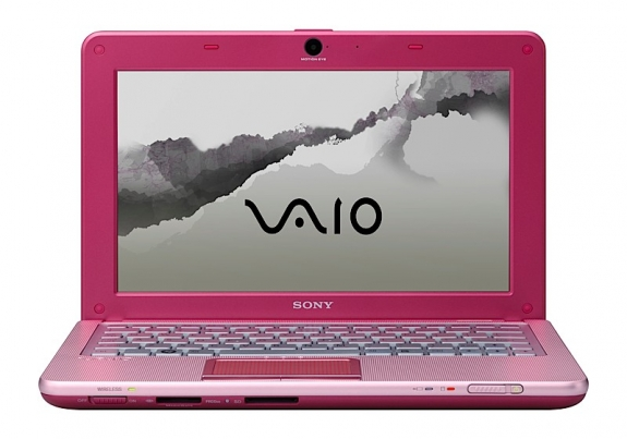 Sony Vaio W Front Pink