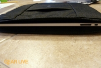 Sprint 4G iPad Case: iPad inserted
