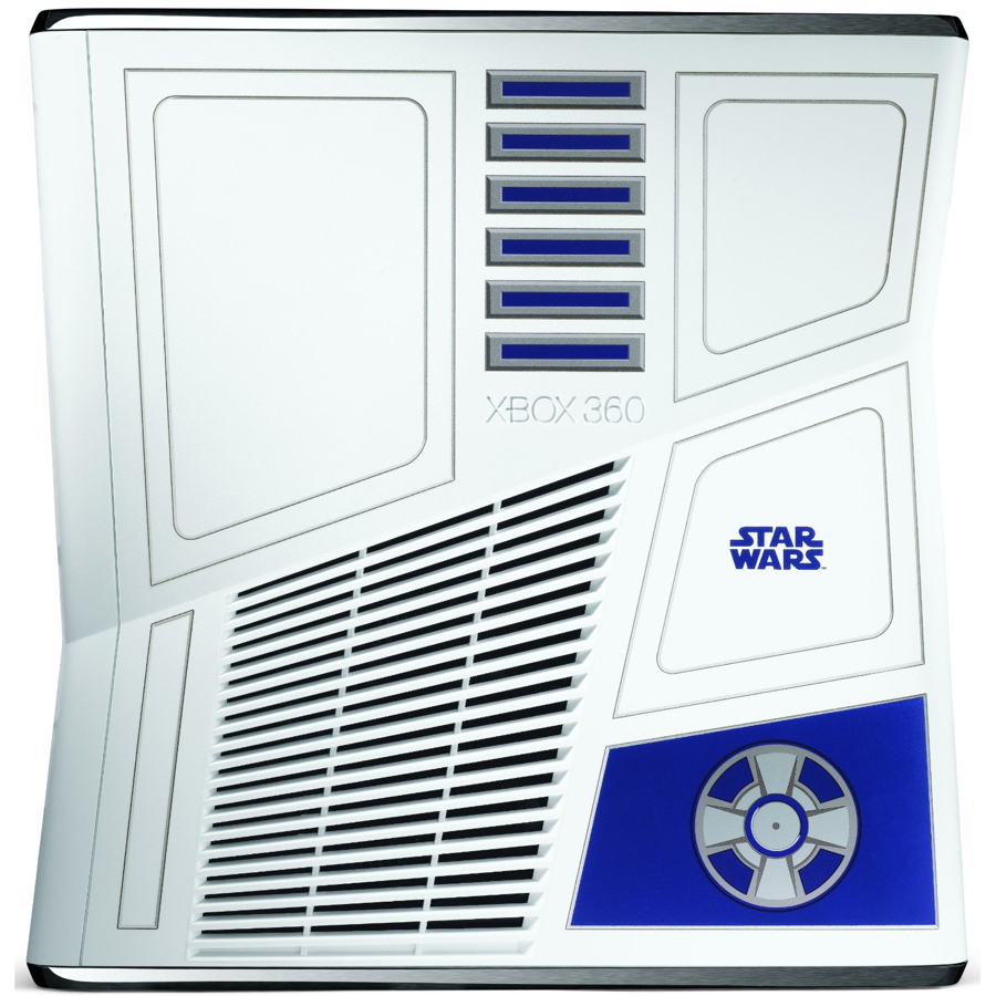 R2-D2 Xbox 360 top