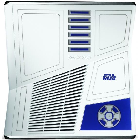 R2-D2 Xbox 360 top