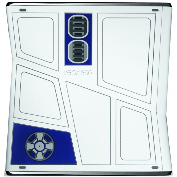 Star Wars Kinect R2-D2 Xbox 360 bottom