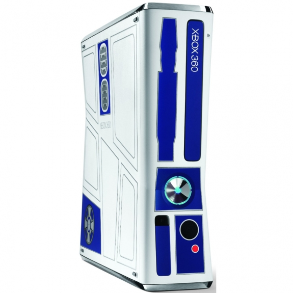 R2-D2 Xbox 360 side