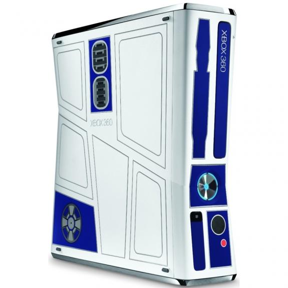 R2-D2 Xbox 360 console