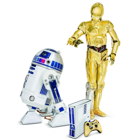Star Wars Kinect with C-3PO and R2-D2