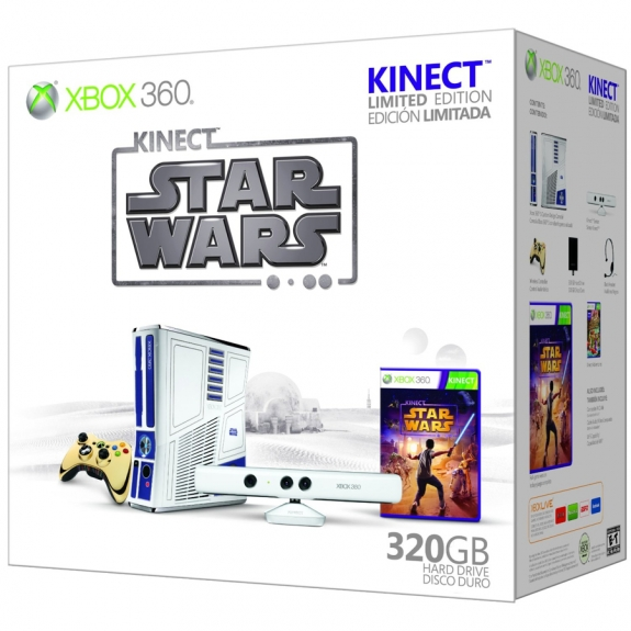 Star Wars Kinect Bundle box right