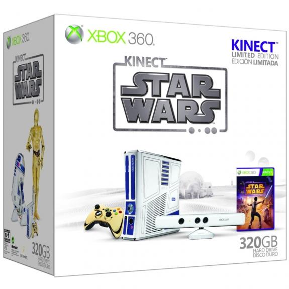 Star Wars Kinect Bundle box left