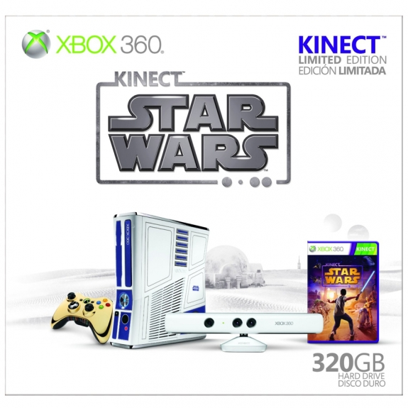 Star Wars Kinect bundle limited edition