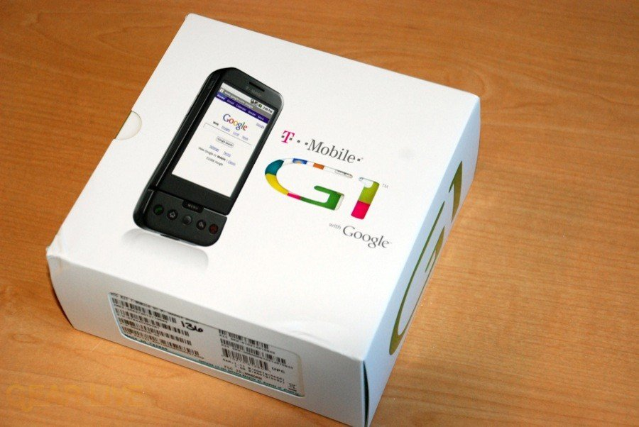 T-Mobile G1 box front
