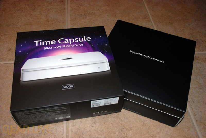 Time Capsule inner box
