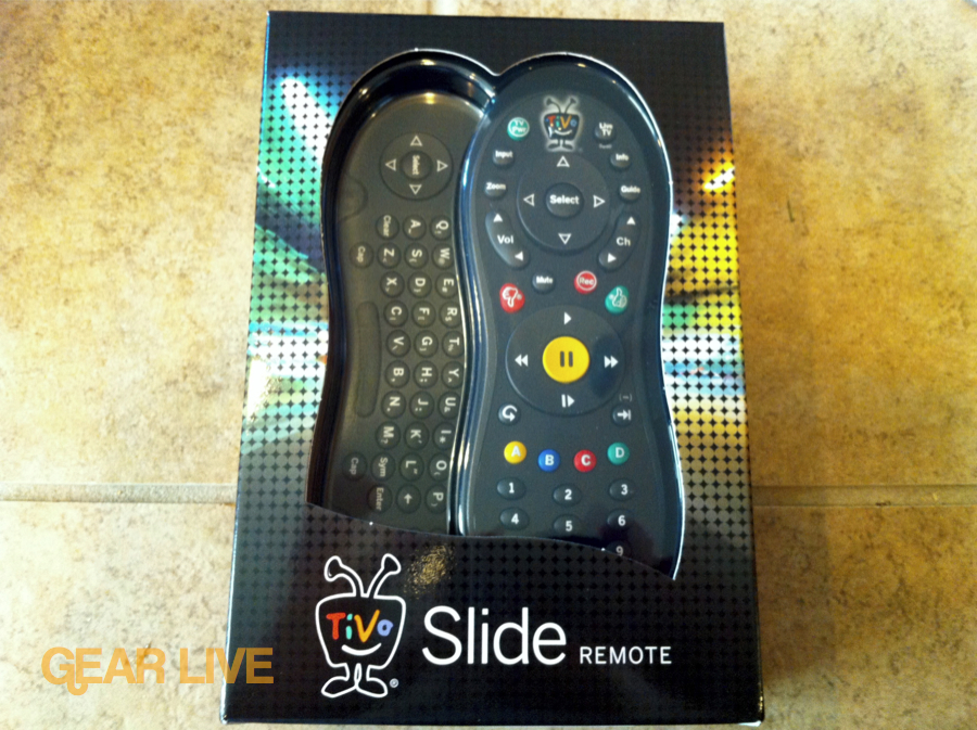 TiVo Slide remote control box