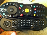 TiVo Slide remote QWERTY