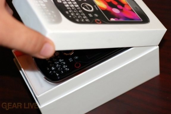 Palm Treo Pro revealing