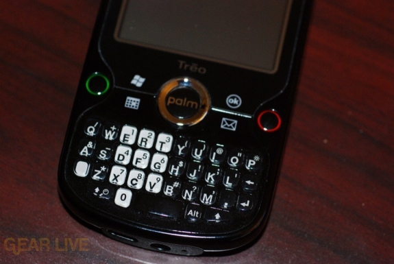 Palm Treo Pro keyboard