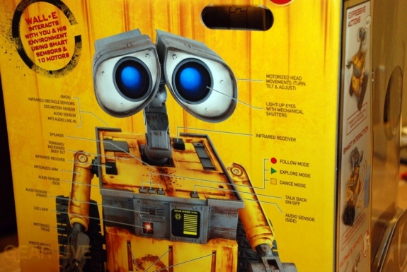 Ultimate Control Wall-E box back