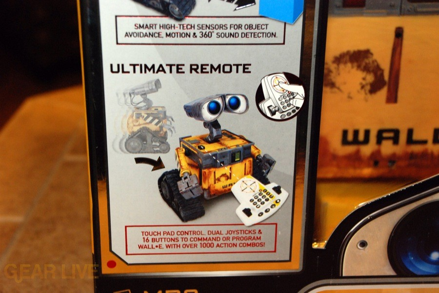 Ultimate Control Wall-E Remote
