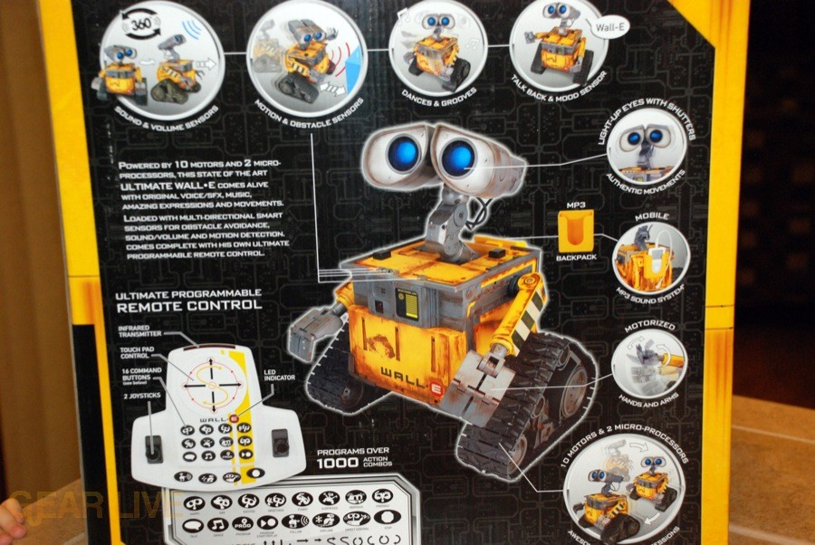 Ultimate Control Wall-E box back 2