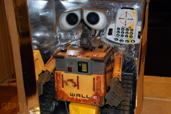 Ultimate Control Wall-E cover removed