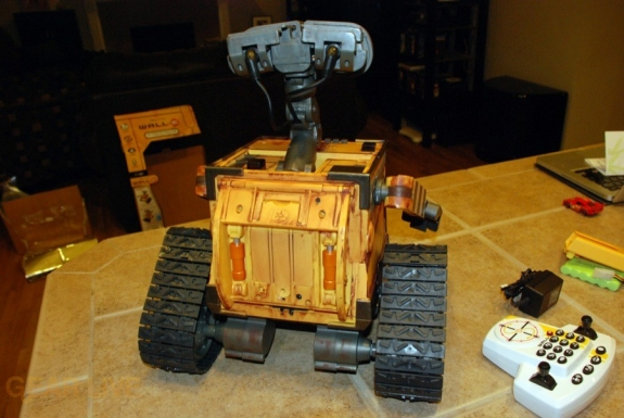 Ultimate Control Wall-E back