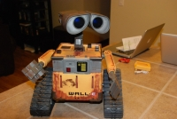 Ultimate Control Wall-E moving