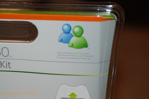 Xbox Messenger Kit: Works With MSN Messenger!