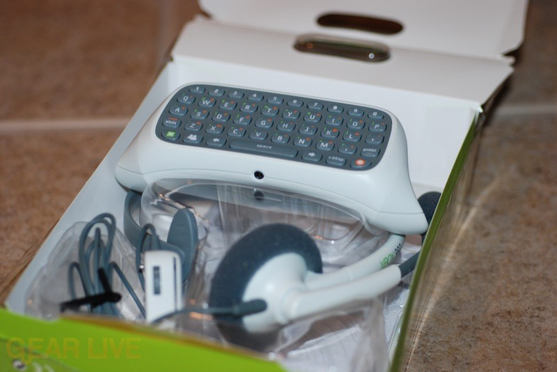 Xbox 360 Messenger Kit Opened