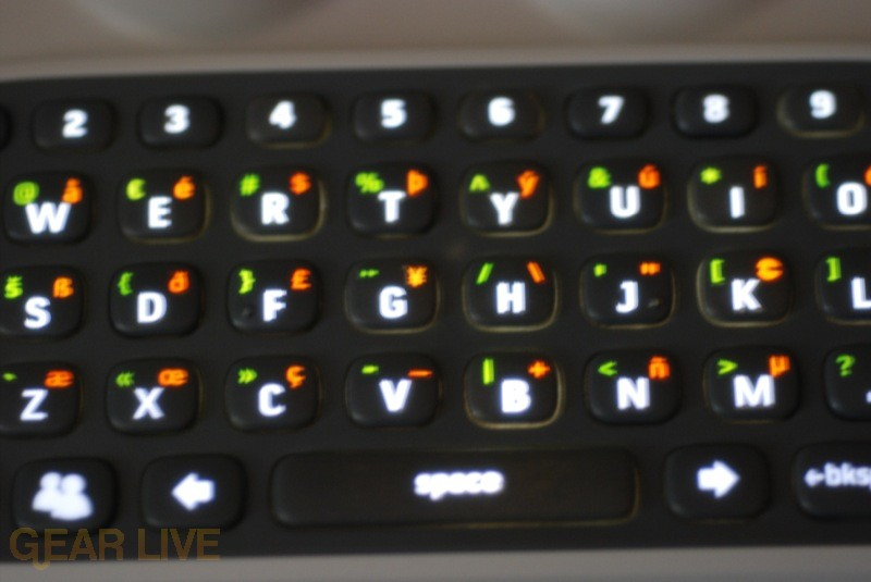Xbox 360 Chatpad Backlit Keys