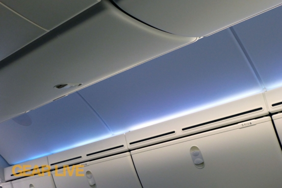 United Boeing 787 Dreamliner Interior