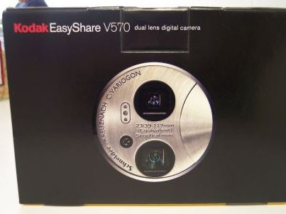 Front of Kodak V570 Box
