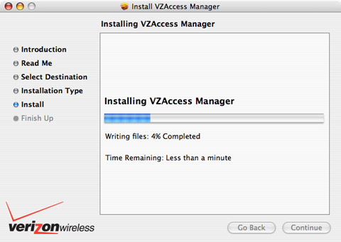 VZAccess Manager Installation