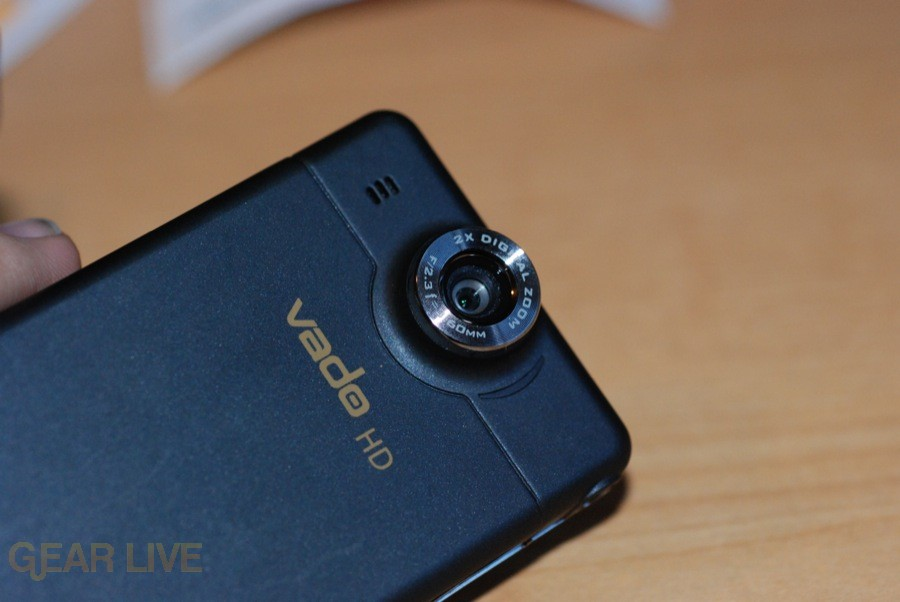 Creative Vado HD lens