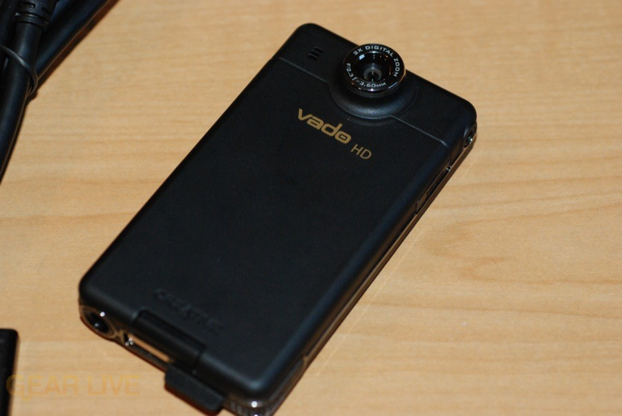 Creative Vado HD back