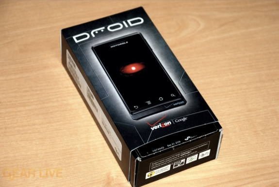 Motorola DROID box