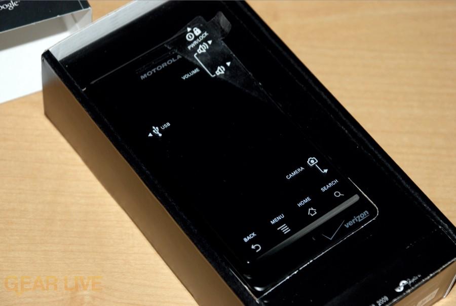Motorola DROID in box
