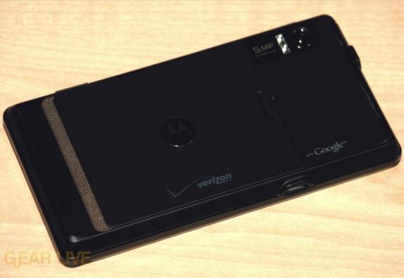 Motorola DROID back