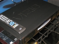 VIZIO VBR100 Blu-ray player angle