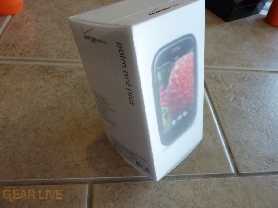 Palm Pre Plus box