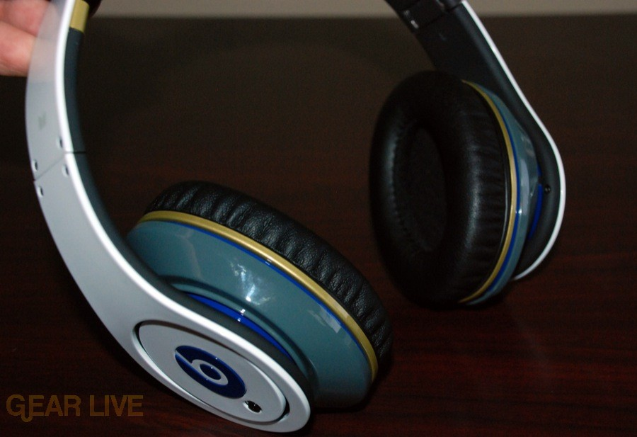 White Beats by Dr. Dre ear cups