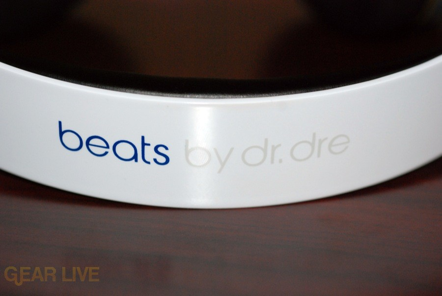 White Beats by Dr. Dre band logo