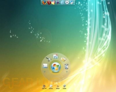 Windows 7 disc layout