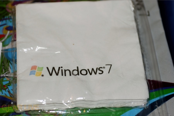 Windows 7 Napkins! (??)