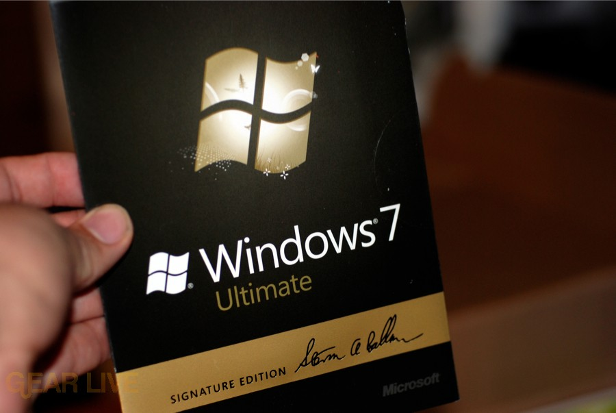 Windows 7 Signature Edition