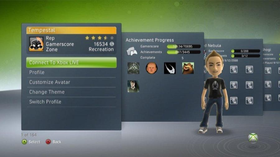 Xbox 360 Achievment Tracker