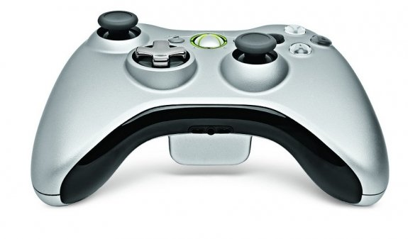 Xbox 360 D-Pad redesign, button down front