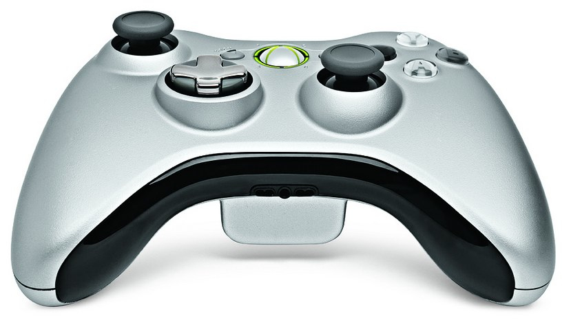 Xbox 360 D-Pad redesign, button up front