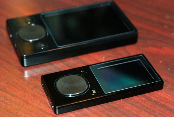 Zune 120 and Zune 16 sides