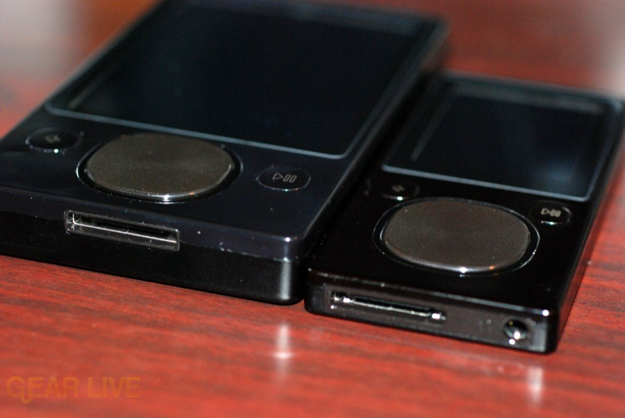 Zune 120 and Zune 16 bottom