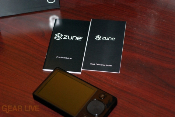 Zune 120: Booklets