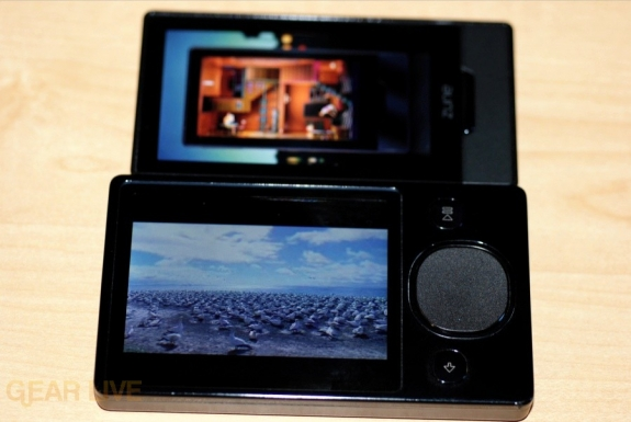 Zune HD video vs Zune 120 video
