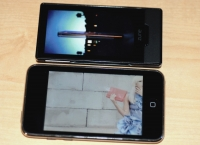 Zune HD vs. iPod touch video playing